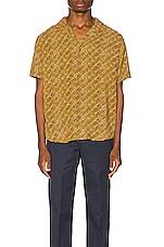 Rhythm Batik Shirt in Vintage Brown