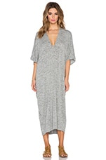 Luca Caftan Maxi Dress in Pebble