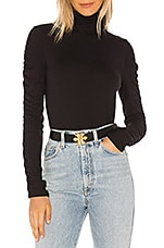 Raina Honey Bees Belt in Black