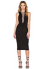 RISE OF DAWN Phoenix Dress in Black