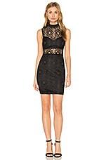 RISE OF DAWN Entrapment Dress in Black