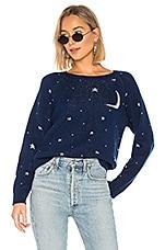 Replica Los Angeles Celestial Sweater in Navy & Silver