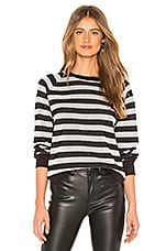 Replica Los Angeles Shiny Stripe Sweater in Kohl
