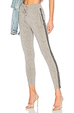 Replica Los Angeles Cashmere Track Pant in Grey Fleck