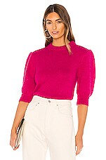 Rebecca Minkoff Olive Sweater in Fuchsia