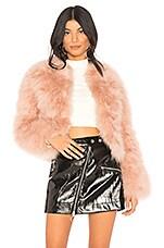 Rebecca Minkoff Pacha Jacket in Blush