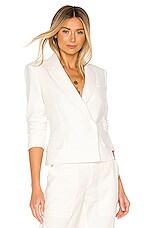Rebecca Minkoff Gaga Jacket in Ecru