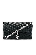 Rebecca Minkoff Edie Wallet On Chain Bag in Black