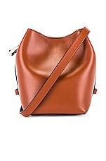 Rebecca Minkoff Kate Mini Bucket Bag in Acorn