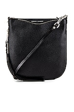Rebecca Minkoff Emma Swing Crossbody in Black