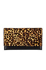 Rebecca Minkoff Wallet Clutch in Leopard