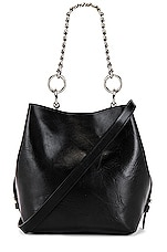 Rebecca Minkoff Kate Medium Convertible Bucket Bag in Black