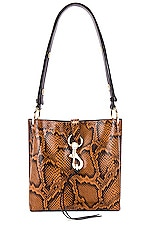 Rebecca Minkoff Megan Small Feed Bag in Equestrian
