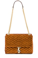 Rebecca Minkoff Edie Flap Shoulder Bag in Equestrian