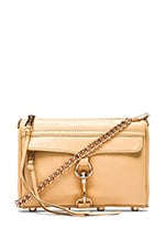 Mini Mac Crossbody in Biscuit & Rose Gold