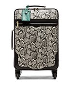Luggage in Snake Print
