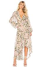 ROCOCO SAND x REVOLVE Flora Maxi Dress in Nude Floral