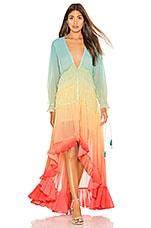 ROCOCO SAND High Low Dress in Rainbow