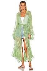 ROCOCO SAND x REVOLVE Orlean Maxi Robe in Green