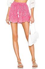 ROCOCO SAND Orlean Short Skirt in Pink