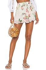 ROCOCO SAND x REVOLVE Lenora Mini Skirt in Floral