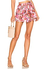 ROCOCO SAND x REVOLVE Lyra Mini Skirt in Purple Multi