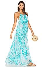 ROCOCO SAND Halter Maxi Dress in Pastel