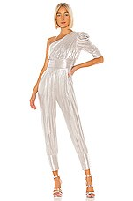 retrofete Thambi Jumpsuit in Silver