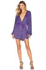 retrofete Gabrielle Robe Dress in Purple
