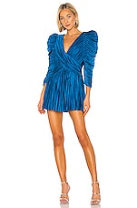 retrofete Evelyn Dress in Blue