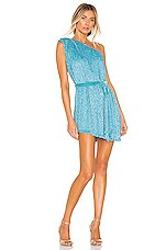 retrofete Ella Dress in Sky Blue