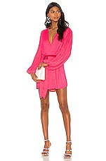 retrofete x REVOLVE Gabrielle Robe Dress in Pink Ultra