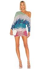 retrofete Yasmin Dress in Unicorn Dip Dye