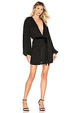 retrofete Gabrielle Robe Dress in Black
