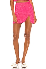 retrofete x REVOLVE Frances Skirt in Neon Pink