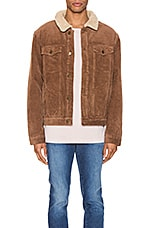 ROLLA'S Morrison Sherpa Jacket in Tan