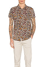 ROLLA'S Black Floral Shirt in Multi