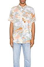 ROLLA'S Bon Bleach Island Shirt in Sun Fade