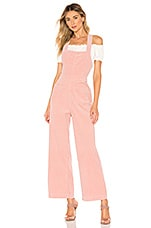 ROLLA'S Cord Admiral Overall in Soft Pink