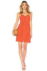 ROLLA'S Asta Dress in Red Mini Spot