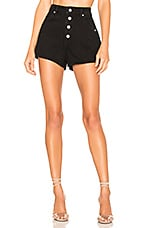 ROLLA'S Dusters Short in Button Black