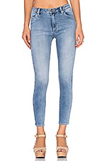 Crop Skinny in Avalon Blue