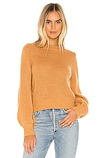 ROLLA'S Fluffy Gigi Sweater in Gold