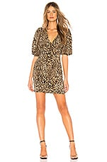 Ronny Kobo Lawrandra Dress in Leopard