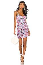 Ronny Kobo Bianca Dress in Lavender Multi
