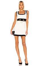 Ronny Kobo Anamaree Dress in Black & White