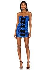 Ronny Kobo Ray Dress in Cobalt