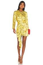 Ronny Kobo Santana Dress in Limelight Multi