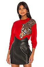Ronny Kobo Nahilla Sweater in Red