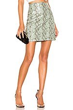 Ronny Kobo Rida Skirt in Sage Multi